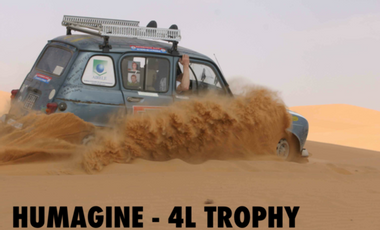 Project visual Humagine - 4L TROPHY