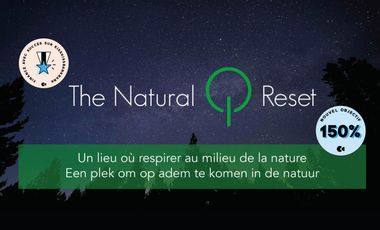 Project visual The Natural Reset - A disconnected accommodation