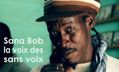 Project visual Sana Bob la voix des sans voix