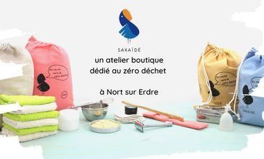 Visuel du projet Sakaïdé, un atelier boutique dédié au Zéro déchet