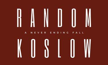 "Visuel du projet Random Koslow - premier album ""A Never Ending Fall"""