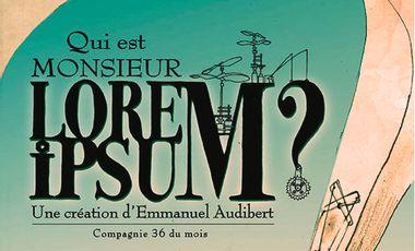 Visueel van project Qui est Monsieur Lorem Ipsum