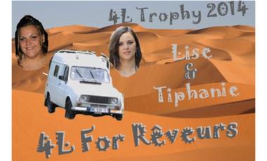 Visueel van project 4L For Rêveurs.. 4L trophy 2014