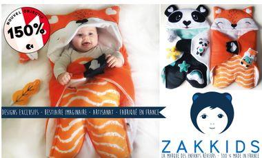 Visuel du projet ZAKKIDS - Créations originales pour enfants rêveurs