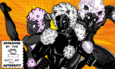 Visueel van project Sheep's Ship Comics