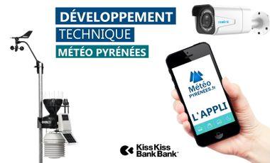 Visueel van project Développement technique de Météo Pyrénées