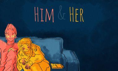 Visuel du projet HIM & HER // COURT-MÉTRAGE
