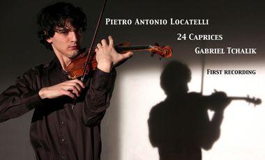 Visuel du projet 24 Caprices pour violon seul de Locatelli