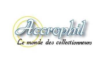 Visueel van project Accrophil, objets aux enchères pour tous les collectionneurs