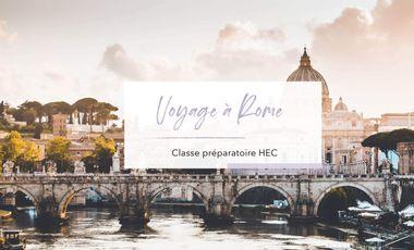 Visuel du projet Voyage à Rome. Classe préparatoire HEC / Lycée Saliège