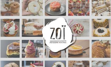 Visueel van project Zoï, la pâtisserie végétale évolue !