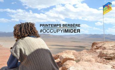 Project visual Printemps Berbère : #OCCUPYIMIDER