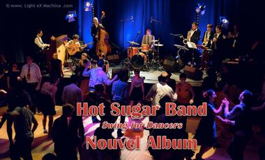 Visueel van project Hot Sugar Band - New Album