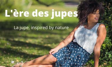 Visuel du projet La jupe éthique inspirée de la nature