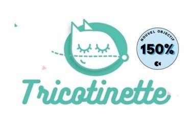 Project visual Tricotinette: pour agrandir l'atelier et l'offre produits
