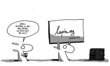 Visuel du projet Lapin.org version 4.0