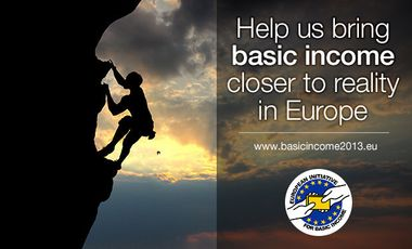 Visuel du projet Help us bring basic income closer to reality in Europe!