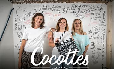 Visueel van project Cocottes, le magazine féminin dédié aux mamans