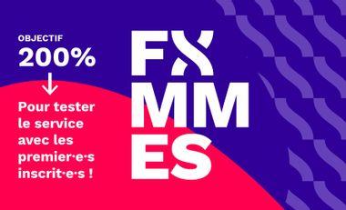 Visueel van project FXMMES, la clinique digitale dédiée aux corps féminins