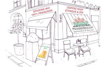 Visueel van project Concept store - Boutique «Éthique & Zen» MangerZen.com