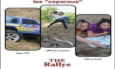 Project visual Objectif rallye des gazelles, les Céparous sont perdues sans vous!