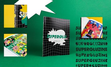 Project visual SUPERGLUZINE, le média consacré à la collaboration entre artistes !