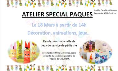 Visueel van project Projet pour le bac avec le service de pédiatrie de Chaumont
