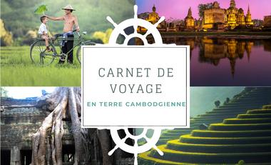Visueel van project Carnet de voyage en terre Cambodgienne