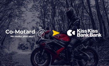 Project visual L'application Co-Motard