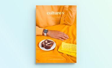 Visueel van project culture v., le magazine de lifestyle éthique (anciennement V.)