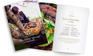 Project visual FOOD SHERPA, ma cuisine sauvage et nomade