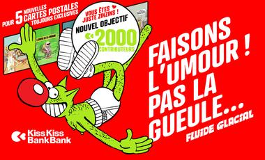 Visueel van project FLUIDE GLACIAL, le magazine d'Umour et Bandessinées