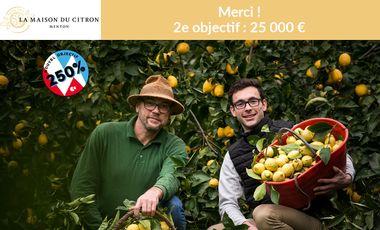 Visuel du projet Le Citron de Menton IGP bio a besoin de vous !