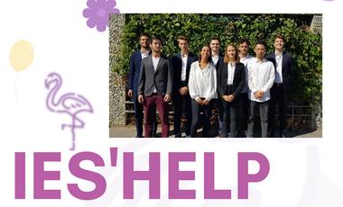 Project visual Ies'Help - Anniversaires pour enfants logés en hôtel social.