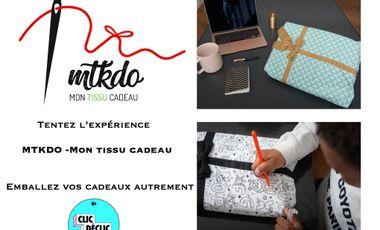 Visuel du projet MTKDO Mon tissu cadeau