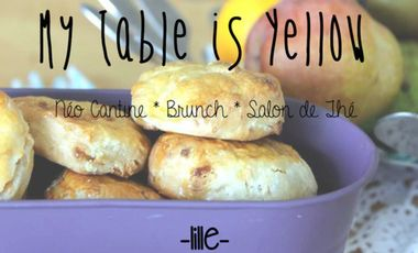 Visuel du projet My Table is Yellow