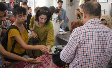 Visueel van project Advance alternative design school in Palestine