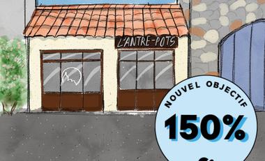 Visueel van project L'ANTRE-POTS, l'épicerie vrac, bio et locale