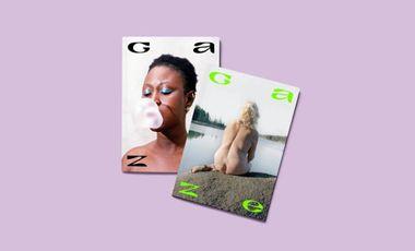Visueel van project Gaze, la revue qui célèbre les regards féminins