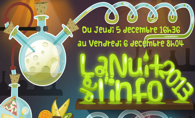 Visueel van project Nuit de l'info Aix-en-Provence 2013