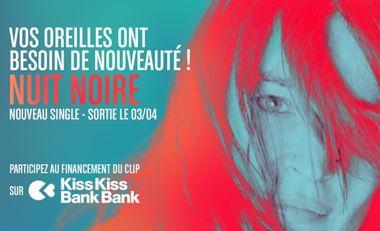 Visuel du projet EVIE - Nouvel EP, Participez au financement du clip NUIT NOIRE