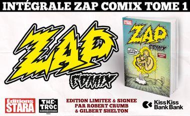 Visuel du projet Intégrale Zap Comix Volume 1