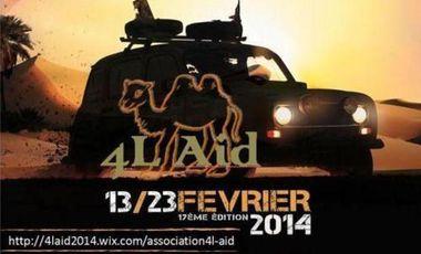 Visueel van project 4L Aid les enfants marocains !!