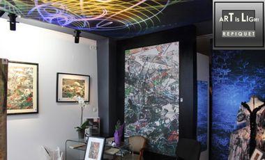 Project visual ART IS LIGHT, une fenêtre sur l'art