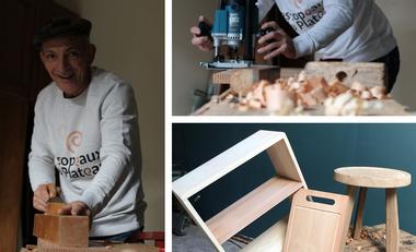 Project visual Initiez-vous au travail du bois dans le Jura