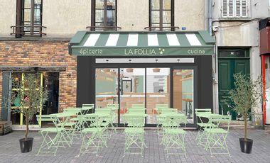 Project visual Une Terrasse pour La Follia!
