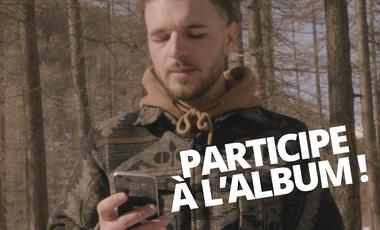 """Visuel du projet LARIO - PREMIER ALBUM """"ATOM"""""""