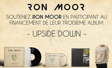 """Project visual Troisième album de Ron Moor """"UPSIDE DOWN"""""""