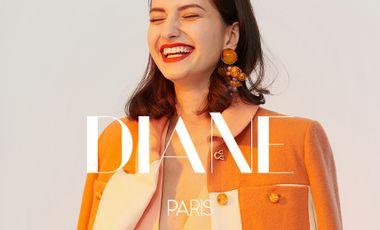 Project visual DIANE Paris : une marque de luxe responsable