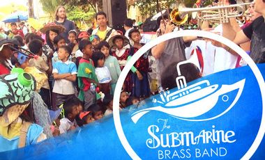 Project visual The Submarine Brass Band, un projet cuivré et solidaire